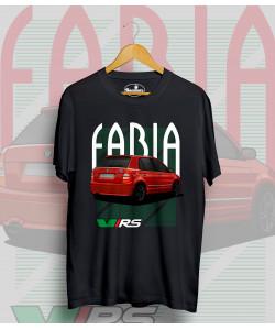 Čierne tričko ŠKODA Fabia RS