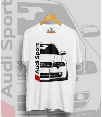 Biele tričko Audi S4 B5