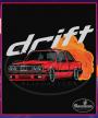 Čierne tričko BMW e30 Drift