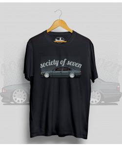 Čierne tričko BMW 7 (society of seven)