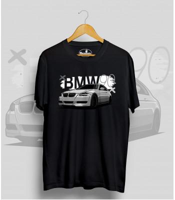 Čierne tričko BMW 90