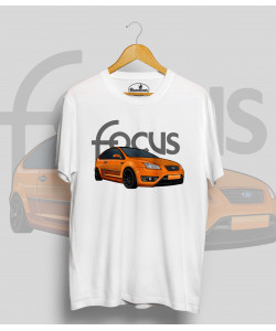 Biele tričko Ford FOCUS 2