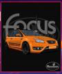 Čierne tričko Ford FOCUS 2