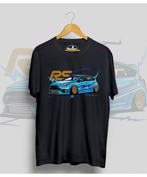 Čierne tričko Ford FOCUS RS
