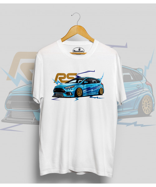 Biele tričko Ford FOCUS RS