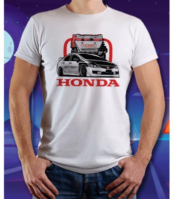 Biele tričko HONDA Accord