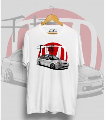 Biele tričko HONDA CIVIC (sedan)