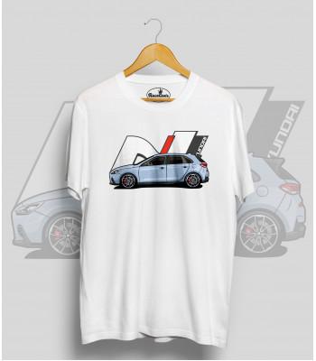 Biele tričko Hyundai N