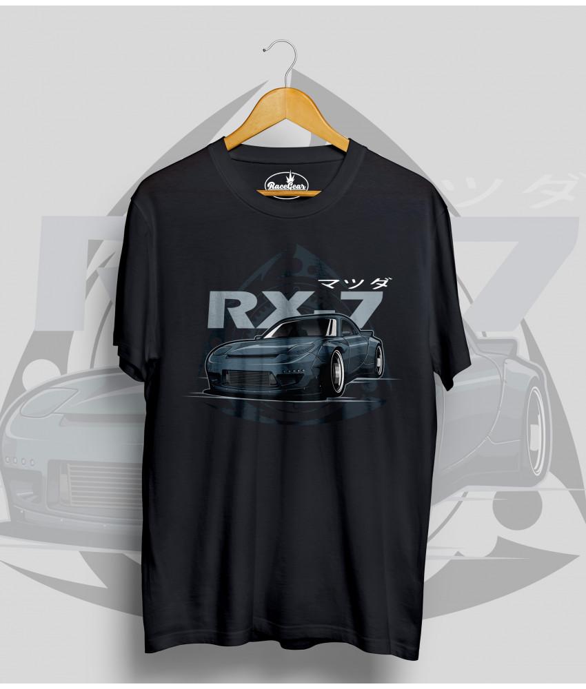 Čierne tričko MAZDA Rx7