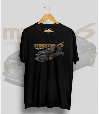 Čierne tričko MAZDA 6 mps