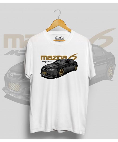 Biele tričko MAZDA 6 mps