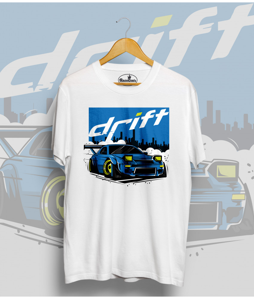 Biele tričko Nissan Drift