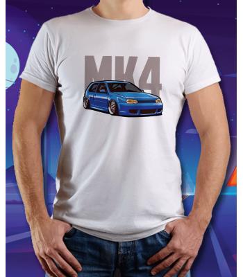 Biele tričko VOLKSWAGEN Golf MK4