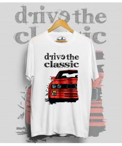 Biele tričko BMW e30 (DriveTheClassic)