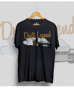 Čierne tričko Nissan 240SX Drift Legend
