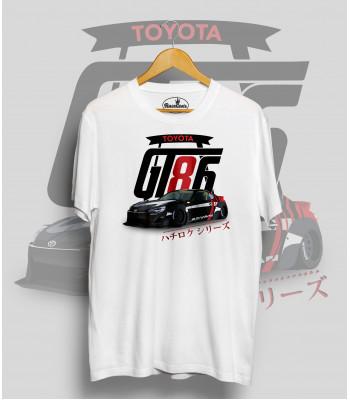 Biele tričko TOYOTA GT86 DRIFT