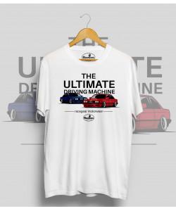 Biele tričko BMW e30 Ultimate