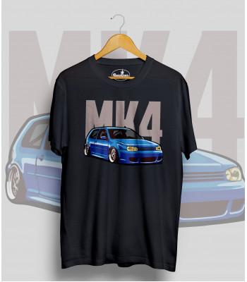 Čierne tričko VOLKSWAGEN Golf MK4