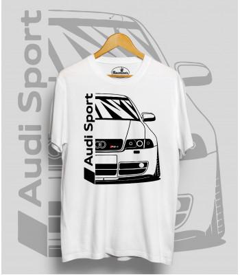 Biele tričko Audi RS4
