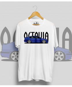 Biele tričko ŠKODA Octavia I