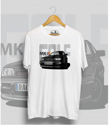 Biele tričko VOLKSWAGEN Golf MK3