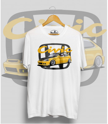 Biele tričko HONDA CIVIC 6.g Y