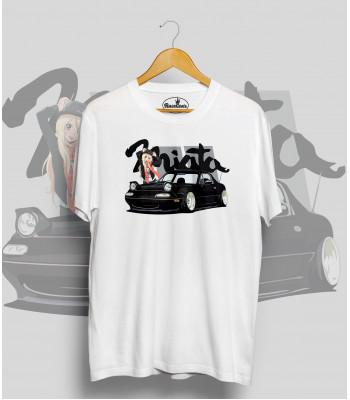 Biele tričko MAZDA Miata (japan girl)