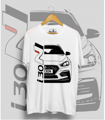 Biele tričko Hyundai i30N
