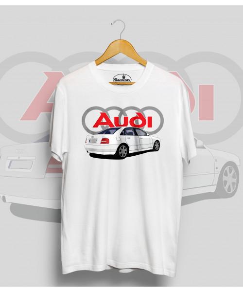 Biele tričko Audi A4