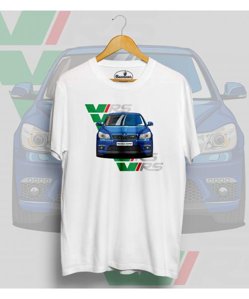 Biele tričko ŠKODA Octavia II RS
