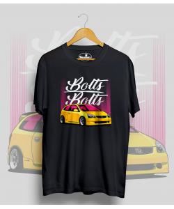 Čierne tričko HONDA CIVIC Type R